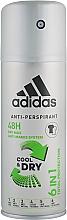 Parfémy, Parfumerie, kosmetika Deodorant - Adidas Anti-Perspirant Cool&Dry 6 in 1 48H