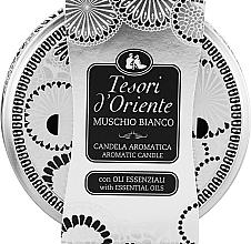 Parfémy, Parfumerie, kosmetika Tesori d`Oriente White Musk - Aromatická svíčka