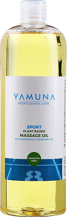 Masážní olej Máta peprná a rozmarýn - Yamuna Peppermint Rosemary Vegetable Massage Oil