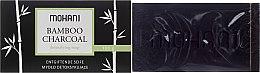 Parfémy, Parfumerie, kosmetika Mýdlo s bambusovým uhlím - Mohani Bamboo Charcoal Detoxifying Soap