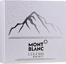 Parfémy, Parfumerie, kosmetika Montblanc Legend Spirit - Sada (edt/100ml + ash/balm/100ml + sh/gel/100ml)