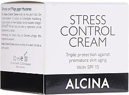 Parfémy, Parfumerie, kosmetika Krém na ochranu pokožky obličeje - Alcina Stress Control Creme