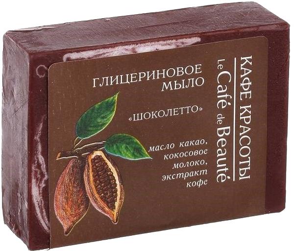 Glycerinové mýdlo Chocoletto - Le Cafe de Beaute Glycerin Soap