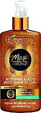 Parfémy, Parfumerie, kosmetika Zářivý elixir na tělo - Bielenda Magic Bronze Illuminating Golden Body Elixir