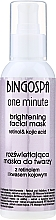 Parfémy, Parfumerie, kosmetika Maska pro unavenou pleť - BingoSpa