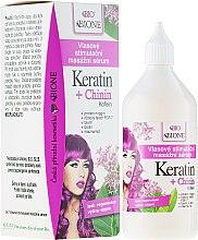 Parfémy, Parfumerie, kosmetika Sérum pro vlasy - Bione Cosmetics Keratin + Quinine Stimulating Massaging Hair Serum