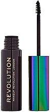 Parfémy, Parfumerie, kosmetika Gel na obočí - Makeup Revolution Brow Mascara With Cannabis Sativa