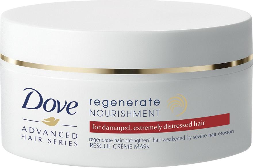 """Výživná krémová maska na vlasy """"Postupné obnovení"""" - Dove Advanced Regenerate Nourishment Creme Mask — foto N1"""