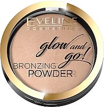 Parfémy, Parfumerie, kosmetika Bronzující pudr - Eveline Cosmetics Glow & Go Bronzing Powder