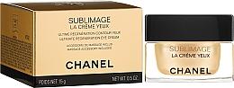 Parfémy, Parfumerie, kosmetika Krém na víčka s nástrojem pro masáž - Chanel Sublimage Eye Cream