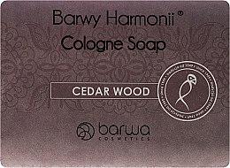 Mýdlo s extraktem z cedru - Barwa Harmony Cedar Wood Soap — foto N1