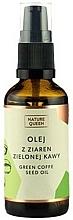 Parfémy, Parfumerie, kosmetika Kosmetický olej Zelená kávová zrna - Nature Queen Green Coffe Sead Oil