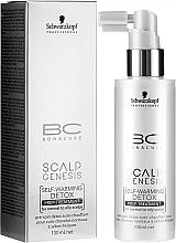 Parfémy, Parfumerie, kosmetika Hřejivá maska pro normální a mastnou pokožku hlavy - Schwarzkopf Professional BC Scalp Genesis Self-Warming Detox Prep-Treatment