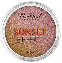 Parfémy, Parfumerie, kosmetika Třpytky na nehty Západ slunce - NeoNail Professional Sunset Effect
