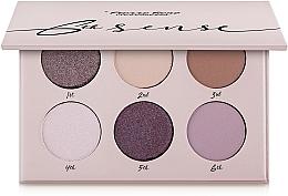 Parfémy, Parfumerie, kosmetika Paleta očních stínů, 6 barev - Pierre Rene 6th Sense Eyeshadow Palette