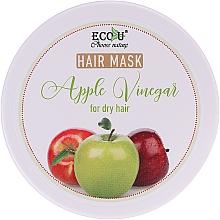 Parfémy, Parfumerie, kosmetika Maska pro suché vlasy Jablečný ocet - ECO U Apple Vinegar Hair Mask For Dry Hair