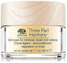 Parfémy, Parfumerie, kosmetika Revitalizační pleťový krém - Origins Three Part Harmony Soft Cream