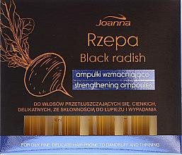 Parfémy, Parfumerie, kosmetika Regenerační ampule na vlasy - Joanna Turnip Description Strengthening Ampoules