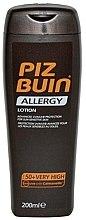Parfémy, Parfumerie, kosmetika Ochranný tělový lotion - Piz Buin Allergy Sun Sensitive Skin Lotion SPF50