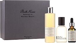 Parfémy, Parfumerie, kosmetika Bath House Spanish Fig and Nutmeg - Sada (edc/100ml + sh/gel/260ml + oil/30ml)