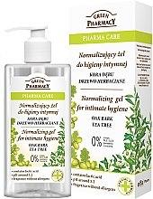 Parfémy, Parfumerie, kosmetika Gel pro intimní hygienu - Green Pharmacy Normalizing Gel