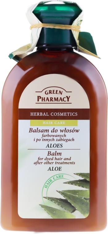 """Balzám-maska pro barvené a melírované vlasy """"Aloe"""" - Green Pharmacy — foto N1"""