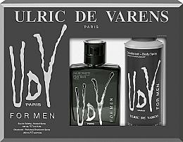 Parfémy, Parfumerie, kosmetika Ulric de Varens UDV - Sada (edt/100ml+deo/200ml)