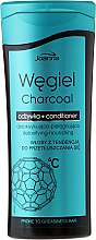 Parfémy, Parfumerie, kosmetika Micelární kondicionér - Joanna Charcoal Micellar Conditioner