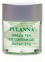 Parfémy, Parfumerie, kosmetika Tonizující oční gel - Pulanna Green Tea Eye Countour Gel