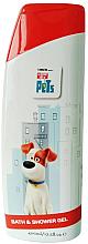 Parfémy, Parfumerie, kosmetika Dětský gel pro sprchování i koupel - Corsair The Secret Life Of Pets Bath&Shower Gel