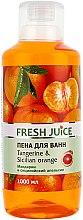 Parfémy, Parfumerie, kosmetika Koupelová pěna Mandarinka a sicilský pomeranč - Fresh Juice Tangerine and Sicilian
