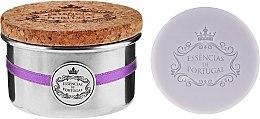 Parfémy, Parfumerie, kosmetika Přírodní mýdlo - Essencias De Portugal Tradition Aluminum Jewel-Keeper Lavender