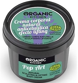 Modelující krém na tělo Pop-art - Organic Shop Organic Kitchen Pop Art Cream
