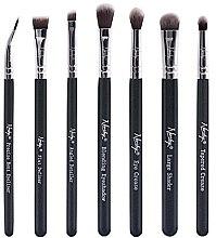 Parfémy, Parfumerie, kosmetika Sada štětců - Nanshy Eye Brush Set Onyx Black (Brush/7ks)