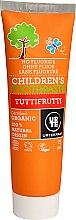 """Parfémy, Parfumerie, kosmetika Dětská zubní pasta """"Tutti-Frutti"""" - Urtekram Childrens Toothpaste Tuttifrutti"""