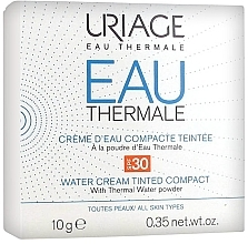 Parfémy, Parfumerie, kosmetika Kompaktní krém-pudr - Uriage Eau Thermale Water Tinted Cream Compact SPF30