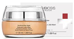 Parfémy, Parfumerie, kosmetika Zklidňující maska želé s červenými řasami - Symbiosis London Soothing Red Algae Splendour Jelly Mask