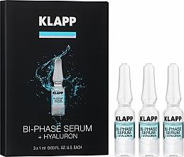 "Parfémy, Parfumerie, kosmetika Dvoufázové sérum ""Hyaluron"" - Klapp Bi-Phase Serum Hyaluron"
