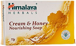 Parfémy, Parfumerie, kosmetika Vyživující krémově medové mýdlo pro normální a suchou pokožku - Himalaya Herbals Cream Honey Soap