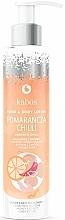 "Parfémy, Parfumerie, kosmetika Balzám na ruce a tělo ""Pomeranč s paprikou chilli"" - Kabos Wild Orange & Chilli Hand & Body Lotion"
