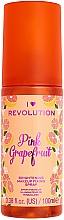 Parfémy, Parfumerie, kosmetika Fixační sprej na make-up - I Heart Revolution Fixing Spray Grapefruit