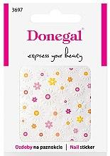Parfémy, Parfumerie, kosmetika Nálepky na nehty, 3697 - Donegal