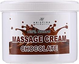Parfémy, Parfumerie, kosmetika Masážní krém na obličej a tělo Čokoláda - Hristina Cosmetics Chocolate Massage Cream