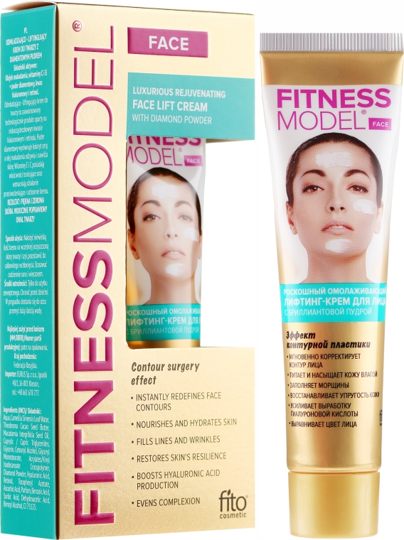 Liftingový krém na obličej - Fito Kosmetik Fitness Model Face Lift Cream