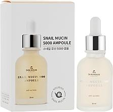 Parfémy, Parfumerie, kosmetika Omlazující ampulové sérum s hlemýždím mucinem a kolagenem - The Skin House Snail Mucin 5000 Ampoule