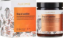 Parfémy, Parfumerie, kosmetika Regenerační a bronzující tělový olej - Alkemie Drop Of Sunshine Regenerating & Bronzing Body Butter