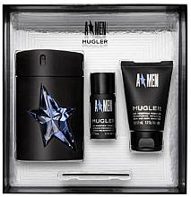 Parfémy, Parfumerie, kosmetika Mugler A Men - Sada (edt/100ml + sh/g50ml + deo/stick/20ml)