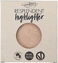 Parfémy, Parfumerie, kosmetika Rozjasňovač ⋅ - PuroBio Cosmetics Resplendent Highlighter (náhradní náplň )