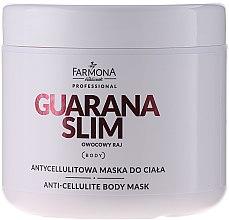 Parfémy, Parfumerie, kosmetika Anticelulitidní maska na tělo - Farmona Professional Mask