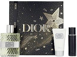 Parfémy, Parfumerie, kosmetika Dior Eau Sauvage - Sada (edt/100ml + sh/gel/50ml + edt/mini/10ml)